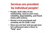 Services-provided-by-people